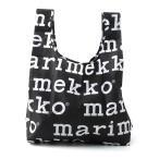 マリメッコ marimekko エコバッグ ブラック レディース バッグ トートバッグ 北欧 41395-910 MARILOGO