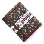 バーバリー BURBERRY 3つ折り 財布 小銭入れ付き MONOGRAM STRIPE モノグラムストライプ ブラウン レディース 8018829-bridlebrown