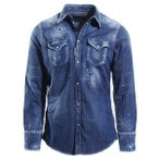 ディースクエアード DSQUARED2 デニムシャツ ブルー メンズ s74dm0226-s30341-470