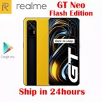 realme gtネオ5 3gスマホ8ギガバイト128ギガバイトdimensity 1200オクタコア50ワット高速充電器 android