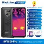 Blackview BV9800プロ熱カメラスマホエリオP70アンドロイド9.0 6ギガバイト + 128ギガバイトIP68防水6580頑丈
