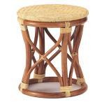 スツール S-11A 丸椅子 補助椅子 丸スツール シンプルスツール 籐スツール ラタンスツール 座面アジロ編み 和風 アジアンスタイル 輸入品