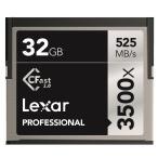 新品   Lexar Professional 3500x CFast 2.0カード 32GB   LC32GCRBJP3500