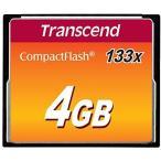 【正規販売店】トランセンド(Transcend) 133倍速 CF(コンパクトフラッシュ)カード 4GB TS4GCF133