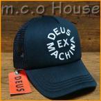 デウスエクスマキナ Deus Ex Machina デウス キャップ 帽子 Circle Logo Trucker ブラック 正規品