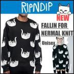 リップンディップ RIPNDIP ニット セーター FALLIN FOR NERMAL KNIT メンズ レディース 2017 新作