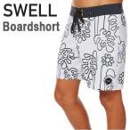 SWELLスウェルボードショーツメンズ水着ビーチショーツショートパンツMonsterious18ホワイト