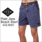 TCSS ティーシーエスエス ボードショーツ 水着 Plain Jane Beach Short ACID NIGHT スイムショーツ 2017 新作