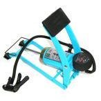 シングルフットポンプ ブルー 英/米/レジャー 自転車/空気入れ/エアーポンプ