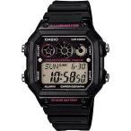 レフリーウォッチ サッカー フットサル 審判時計 カシオ CASIO 海外限定 スポーツウォッチ 10気圧防水 デジタル 腕時計 (A14FBP-201BLK) ランニング 時計