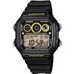 レフリーウォッチ サッカー フットサル 審判時計 カシオ CASIO 海外限定 スポーツウォッチ 10気圧防水 デジタル 腕時計 (A14FBP-202BKYE) ランニング 時計