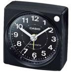 Yahoo!MDCGIFTカシオ 電波時計 コンパクト 置時計 アナログ 目覚まし時計 旅行用 おしゃれな ブラック 黒 (CL15JU30) アラビア数字 秒針 音がしない 静かな トラベルクロック