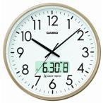 カシオ 電波時計 壁掛け時計 デジタル アナログ 掛け時計 日付・曜日 カレンダー(CL15JU52GLD)デュアルタイム プログラム時報付き