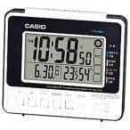 カシオ 電波時計 置時計 デジタル 旅行用 目覚まし時計 コンパクト (CL16SP01) 日付 曜日 カレンダー 温度 湿度計 LED ライト付き 小型 卓上 電波 置き時計