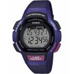 ランニングウォッチ カシオ スポーツウォッチ 10気圧防水 レディース デジタル 腕時計 (LSD19FB02) ストップウォッチ 5年電池 LEDライト付き ランナーズウォッチ