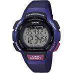 ランニングウォッチ カシオ スポーツウォッチ 10気圧防水 レディース デジタル 腕時計 (LSD19FB02海外版) ストップウォッチ 5年電池 LEDライト付き ランナー時計