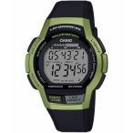 ランニングウォッチ カシオ スポーツウォッチ 10気圧防水 デジタル 腕時計 (MSD19FB03) ストップウォッチ 60ラップ タイマー LEDライト付き ランナーズウォッチ