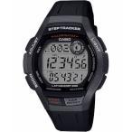 ランニングウォッチ カシオ スポーツウォッチ 10気圧防水 メンズ デジタル 腕時計 (MSD19FB04BLK) 歩数計測機能 LEDライト付き CASIO マラソン ランニング 時計