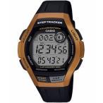 ランニングウォッチ カシオ スポーツウォッチ 10気圧防水 メンズ デジタル 腕時計 (MSD19FB06ORG) 歩数計測機能 LEDライト付き CASIO マラソン ランニング 時計