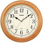 カシオ 壁掛け時計 アナログ 掛け時計 アラビア数字 ブラウン 茶(SCL16AP02WHBR)スムーズ秒針 おしゃれな白木目調デザイン CASIO 3針 ANALOG CLOCK 掛時計