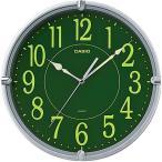 カシオ スタンダード 壁掛け時計 アナログ 掛け時計 アラビア数字 シルバー 銀(SCL16AP05SLV)スムーズ秒針 集光樹脂文字板 CASIO 3針 ANALOG CLOCK 掛時計