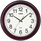 カシオ 壁掛け時計 アナログ 掛け時計 アラビア数字 ブラウン 茶(SCL16MY01BRW)ホワイト 白 文字板 スムーズ秒針 CASIO 掛時計 おしゃれな木目調デザイン