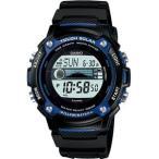 カシオ スポーツウォッチ 10気圧防水 タイドグラフ 月齢 ムーンデータ ソーラー デジタル 腕時計(W-S210H-1AJF海外版)マリンスポーツ ランニングウォッチ