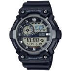 カシオ スポーツウォッチ 10気圧防水 デジタル アナログ 腕時計 ストップウォッチ LEDライト CASIO マラソン ランニング 時計 アウトドアウォッチ (SD17OC08)