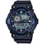 カシオ スポーツウォッチ 10気圧防水 デジタル アナログ 腕時計 ストップウォッチ LEDライト CASIO マラソン ランニング 時計 アウトドアウォッチ (SD17OC09)