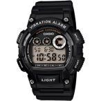 ランニングウォッチ カシオ スポーツウォッチ ランニング 10気圧防水 デジタル 腕時計 (W13FBP-401BLK) バイブ 振動アラーム 海外限定 アウトドアウォッチ 時計