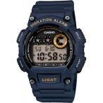 カシオ スポーツウォッチ 10気圧防水 デジタル 腕時計(W13FBP-402BLU)バイブ 振動アラーム 10年電池 LEDライト 海外限定 マラソン ランニングウォッチ 時計