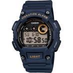 カシオ スポーツウォッチ 10気圧防水 デジタル 腕時計 (W13FBP-402BLU) バイブ 振動アラーム 10年電池 LEDライト 海外限定 マラソン ランニングウォッチ 時計