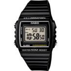 カシオ スポーツウォッチ 5気圧防水 メンズ デジタル 腕時計 ブラック 黒 (W13MYP-101海外版) ストップウォッチ LEDライト付き CASIO マラソン ランニング 時計