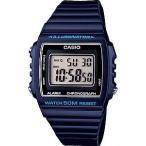 カシオ スポーツウォッチ 5気圧防水 メンズ デジタル 腕時計 ブルー 青 (W13MYP-102海外版) ストップウォッチ LEDライト付き CASIO マラソン ランニング 時計