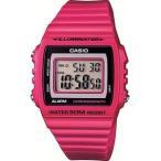 カシオ スポーツウォッチ 5気圧防水 メンズ デジタル 腕時計 ピンク (W13MYP-103PNK海外版) ストップウォッチ LEDライト付き CASIO マラソン ランニング 時計