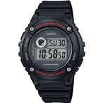 ランニングウォッチ CASIO カシオ スポーツウォッチ ランニング 5気圧防水 デジタル 腕時計 (W14JLP-901BLK) 海外限定 ジョギング マラソン ランニング 時計