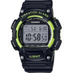 ランニングウォッチ カシオ スポーツウォッチ 10気圧防水 デジタル 腕時計 バイブ 振動アラーム 海外限定 CASIO マラソン ランナーズウォッチ (WH16JLP-103BKGR)