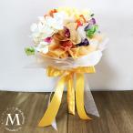 キャンディブーケ 結婚式 ウエディング トス プルズ ブーケ オレンジ キャンディーブーケ