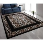 カーペット ラグ アニマル 140×200 リビング ヒョウ 暖かい 冬用 冬 ふわふわ ふかふか あったか 暖か カーペット 絨毯