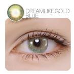 YOUPLUS 盛れるカラコン Dream Like Gold Blue  2P 1YEAR