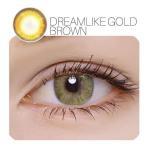YOUPLUS 盛れるカラコン Dream Like Gold Brown  2P 1YEAR