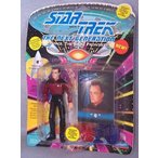 ゲーム、おもちゃ、趣味 おもちゃ  家の模型 Star Trek The Next Generation Q in Starfleet Uniform 4 inch Action Figure 正規輸入品