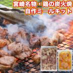 バーベキュー 食材 セット 鶏の炭火焼き(炭火焼/鳥の炭火焼き/炭火焼き鳥/焼鳥)を作る1kg トリスミビヤキツクール手作り