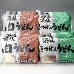 冷凍讃岐うどん、具入りうどんセットA 10食入 ★ (肉うどん5食・きつねうどん5食)