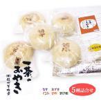 一茶のそばおやき5種各1個セット(あずき、くるみ、野沢菜、切干、なす) 保冷袋入 冷凍便でお届けします 。長野 お土産
