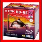 TDK 録画用 BD-RE 25GB 1-2倍速 ホワイトワイドプリンタブル 20枚 5mmケース BEV25PWA20A