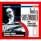 ショスタコーヴィチ:交響曲全集 [CD] インバル(エリアフ),ウィーン交響楽団; プロキナ(エレーナ); ヴィエネンシス(コルス); ウィー…