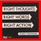 ライト・ソーツ、ライト・ワーズ、ライト・アクション [CD] フランツ・フェルディナンド