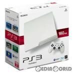 『中古即納』{本体}{PS3}プレイステーション3 PlayStation3 HDD160GB クラシック・ホワイト(CECH-3000ALW)(20110908)