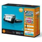 『中古即納』{本体}{WiiU}Wii U すぐに遊べるファミリープレミアムセット(クロ)(WUP-S-KAFS)(20131031)